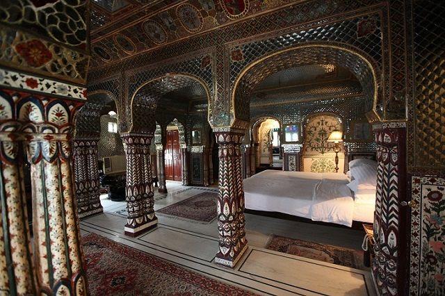 Sheesh_Mahal Suite Samode Haveli in Jaipur