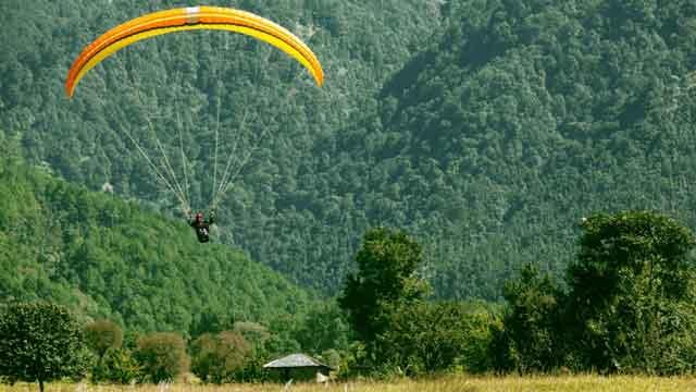 Kunjapuri Paragliding