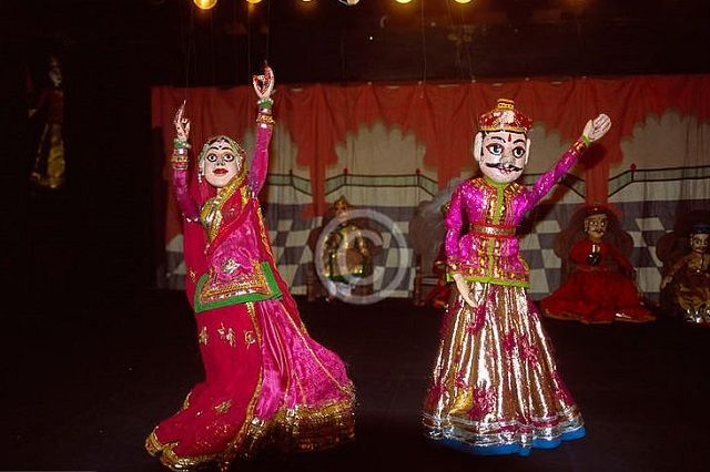 Puppet Show in Rajasthan