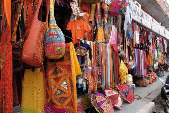 Shoppin in Jaipur