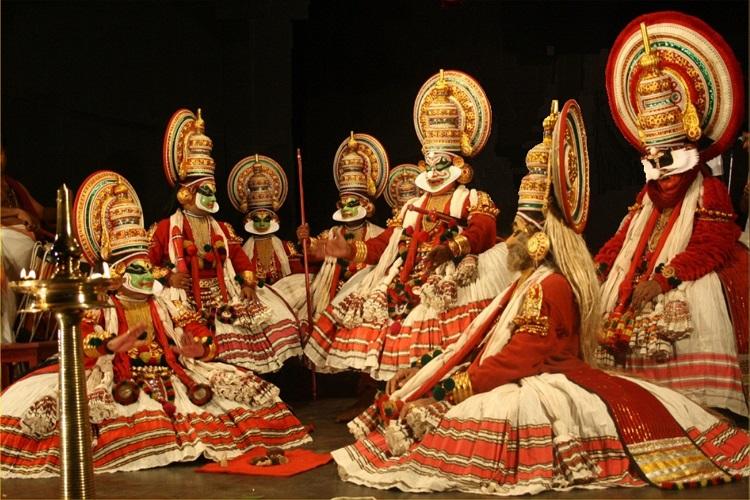 Kathakali-Performance