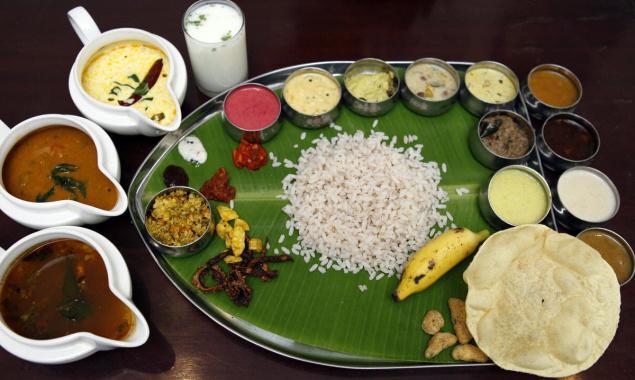 Onam Sadhya, Kerala