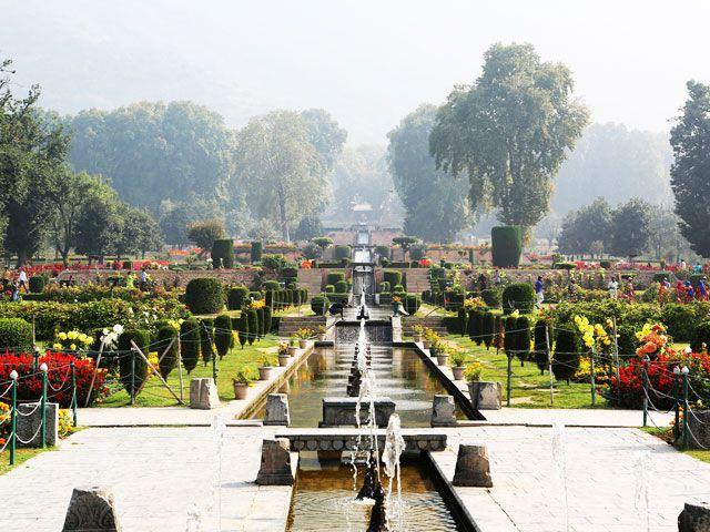 Shalimar Bagh in Srinagar