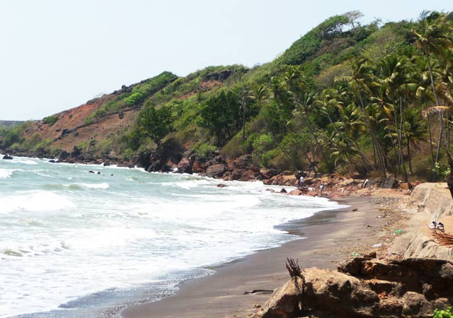 Canaguinim beach: Best Goa Beaches