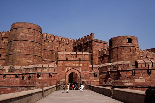 Agra Fort - A UNESCO World Heritage site located in Agra, Uttar Pradesh, India