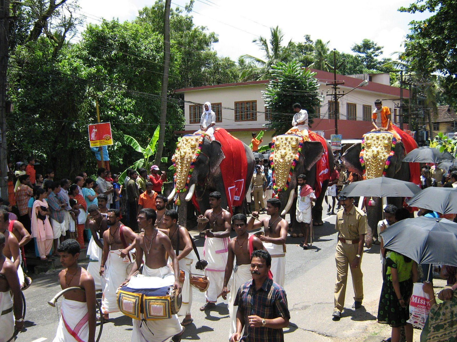 Athachamayam Thrippunithura festival