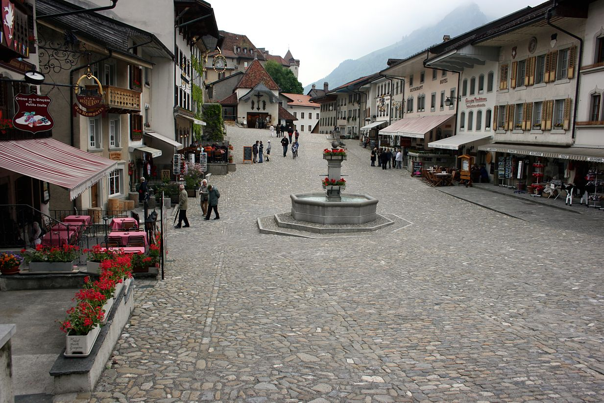 Gruyères Village, Switzerland