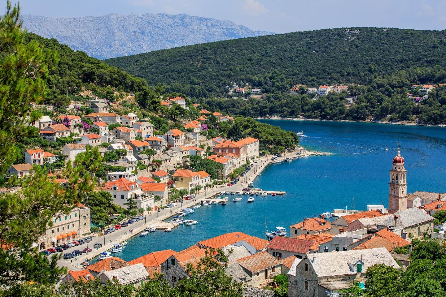 Pucisca Village, Croatia