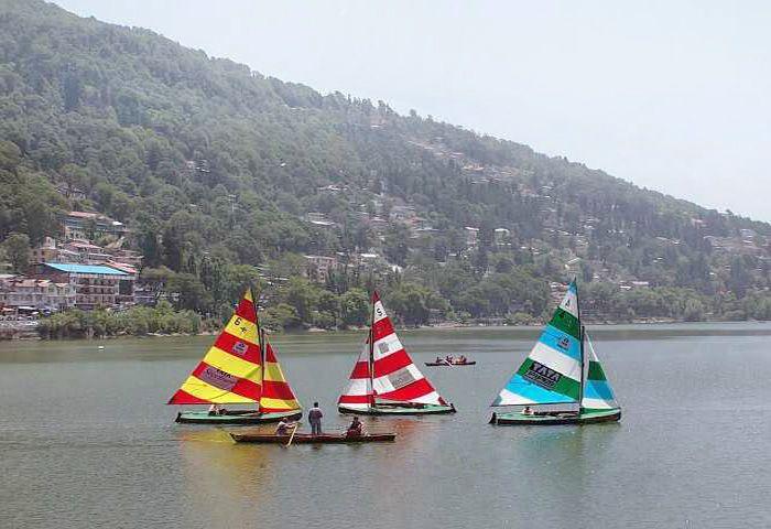 yachting in Nainitala