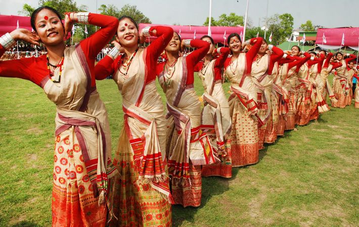 Attend Bihu Festival in Assam