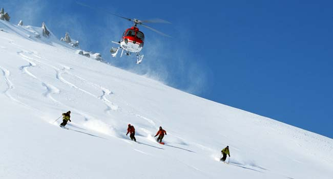 Heli Skiing in Ladakh