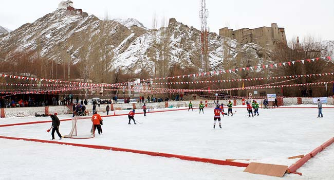 Ice Hockey In Leh Ladakh