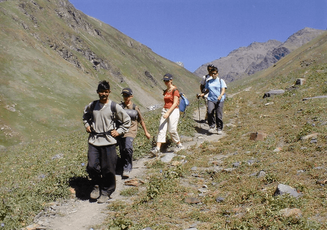 Trekking in kaza