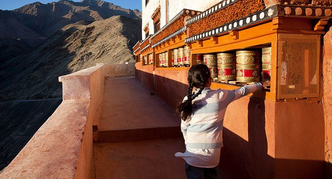 Prayer Wheel, Ladakh
