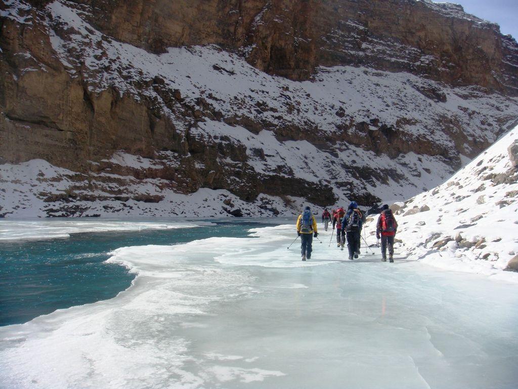 Frozen River in Ladakh