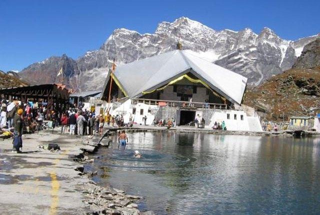Hemkund Sahib Gurudwara