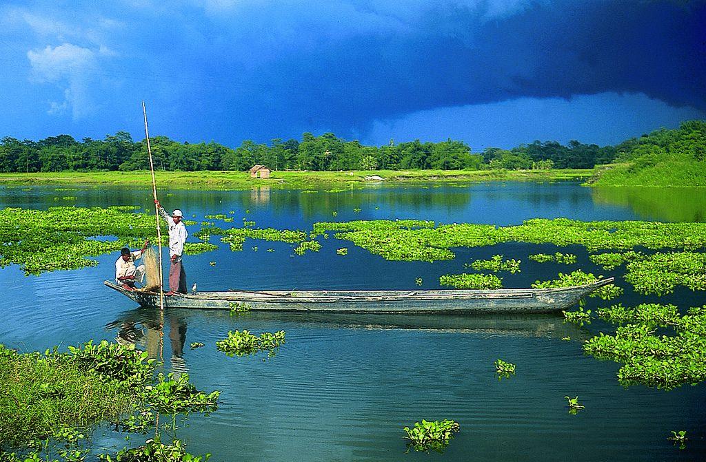Majuli, in Assam