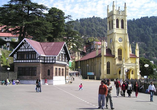 Christ Church Shimla, Himachal Pradesh