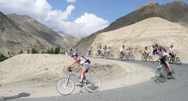Mountain Biking in Leh Ladakh