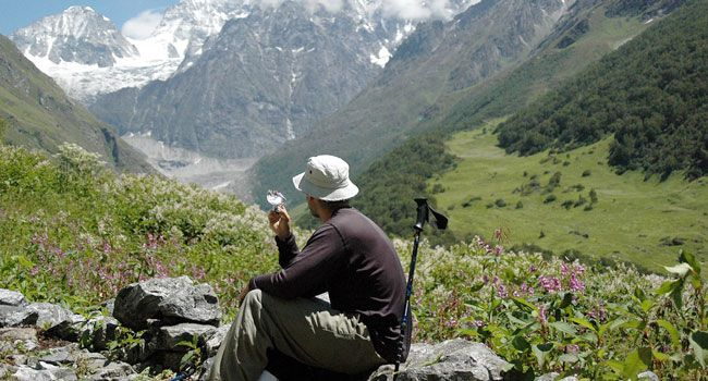 Valley of flower trekking in uttarakhand