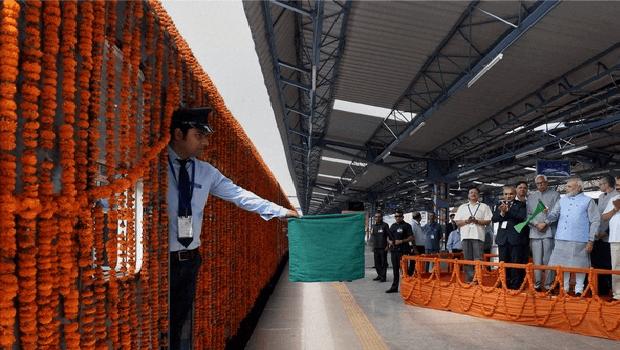 Inauguration of Katra Udhampur Rail Line