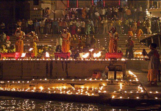 Ganga festival in Varanasi