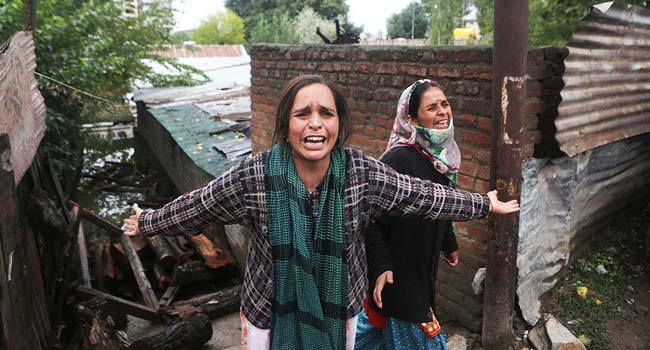 Flood Victims, Kashmir