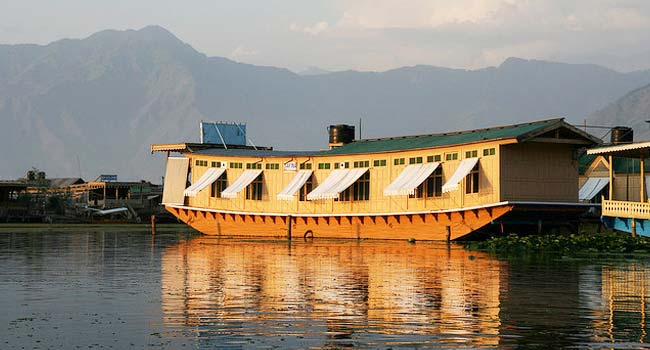 Houseboats in Kashmir