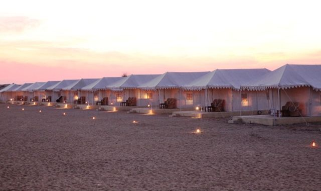 Night Camp in Jaisalmer