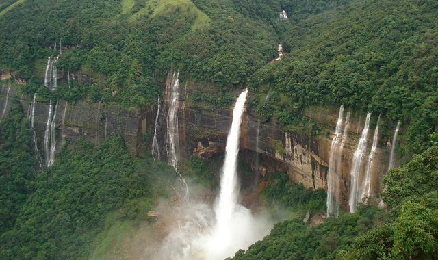 Cherrapunji Waterfall