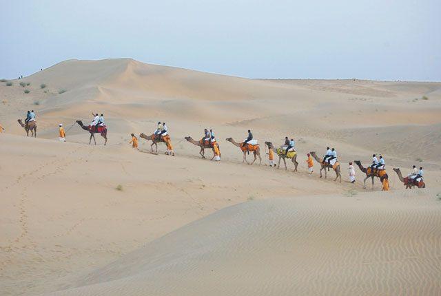Sand Dunes, Jaisalmer