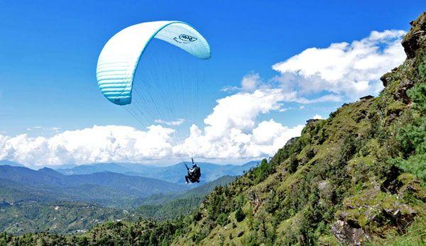 Tandem Paragliding, Mukteshwar