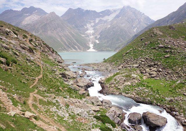 Shesnag Lake, Pahalgam