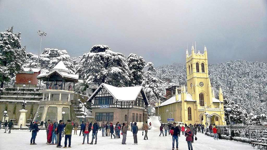 Christ Church in Shimla - The second oldest church in North India
