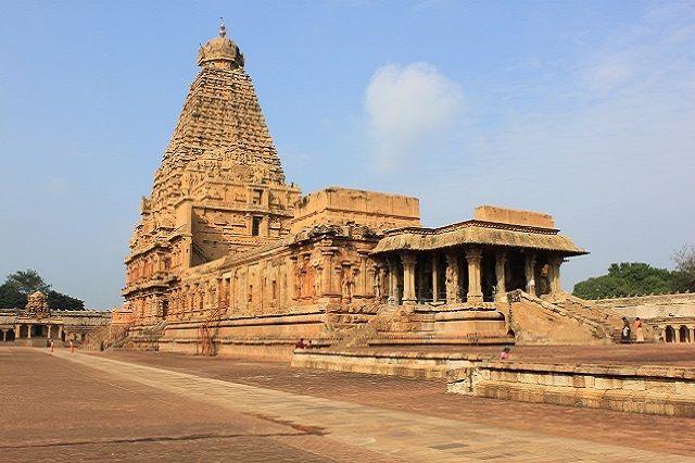 Brihadeeswarar Temple in Tamil Nadu