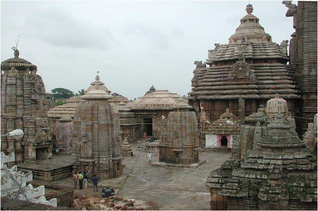 Lingaraj Temple in Odisha
