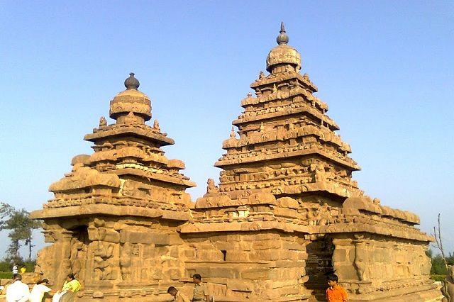 Shore Temple in Tamil Nadu