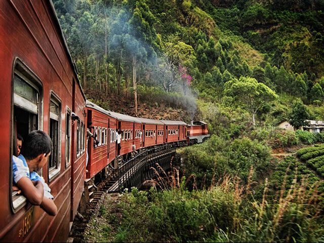 Colonial Trains of Sri Lanka