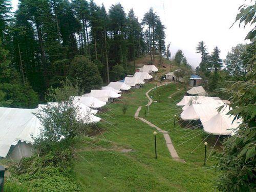 Camping in Kanatal, Uttarakhand