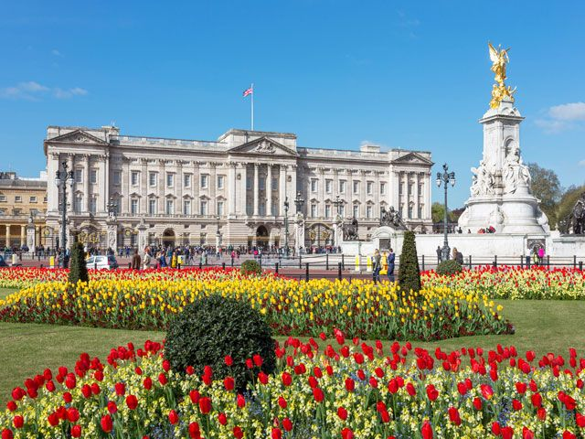 Buckingham Palace in Lundon
