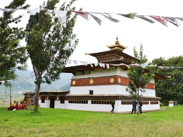 Chime Lhakhang in Bhutan