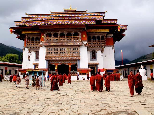 Gangtey Monastery of Bhutan