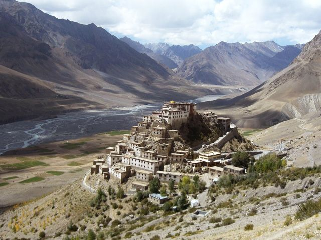 Spiti Valley in Himachal Pradesh