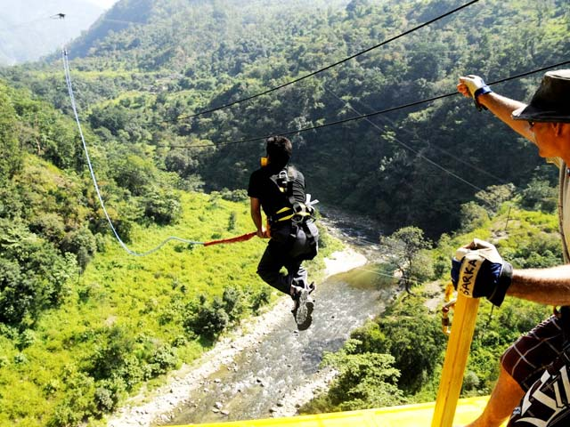 Swing in rishikesh