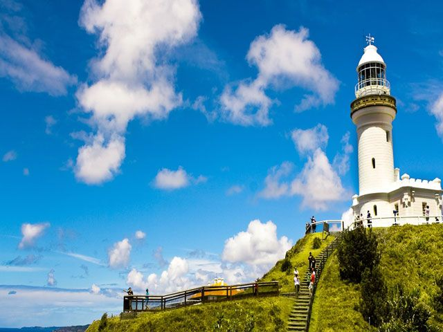 Light House at Byron Bay Town