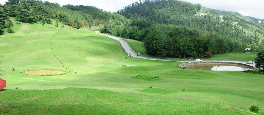 Golf course Ooty