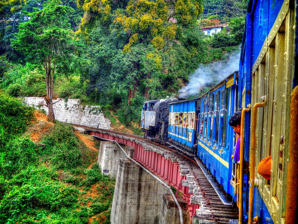 Nilgiri mountain railway Ooty