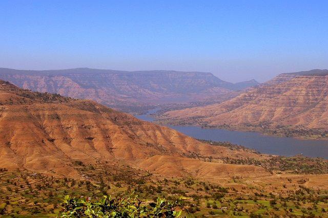 View from Panchgani in Maharashtra