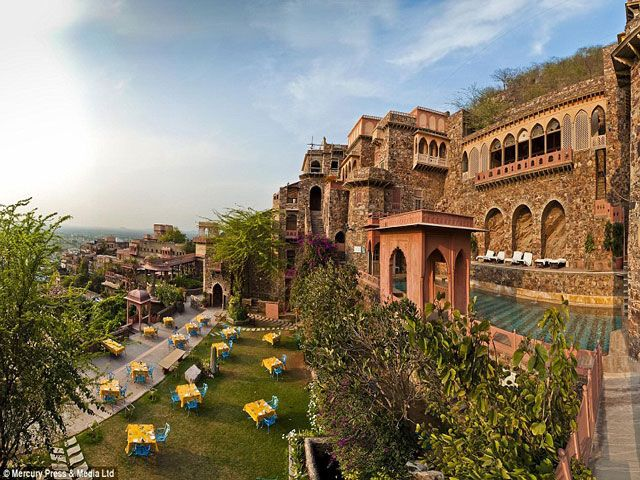 Neemrana Fort Palace in Rajasthan