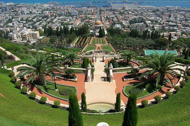 Baha'i Shrine and Gardens, Haifa, Israel